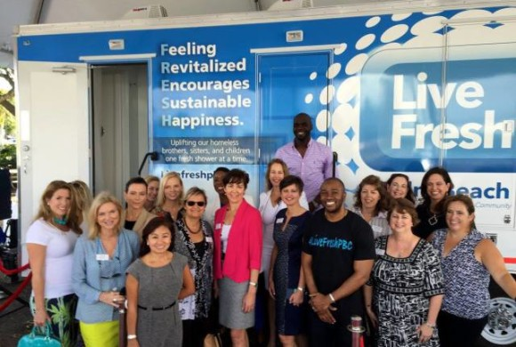Palm Beach County charity offers mobile showers to homeless