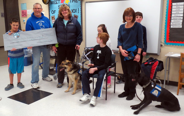 Lee Burneson Middle School students raise $1,000 for charity