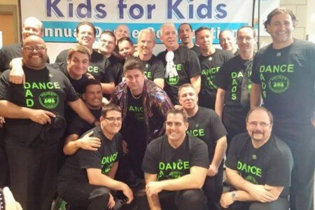 Dance Dads Raise Funds for Children's Charity