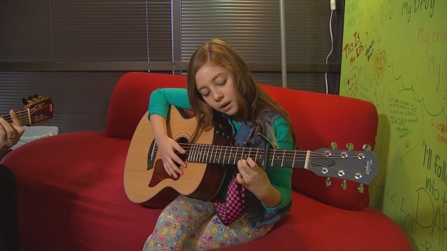Texas girl, 9, starts charity for kids