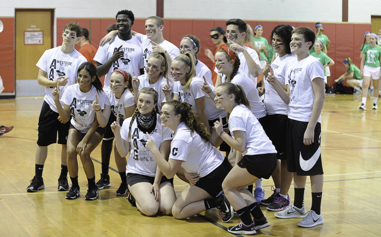 Easton Area High School competes in 'wacky games' for charit