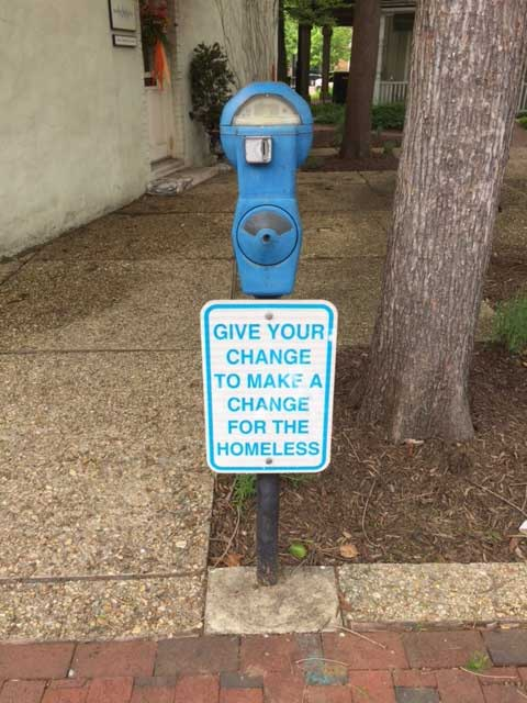 Annapolis parking meters raise money for the homeless